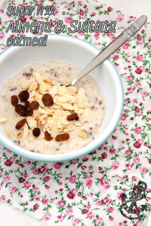 sugar free oatmeal recipe healthy low in calorie breakfast idea