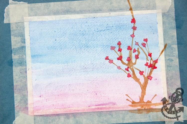 teaching children watercolor painting