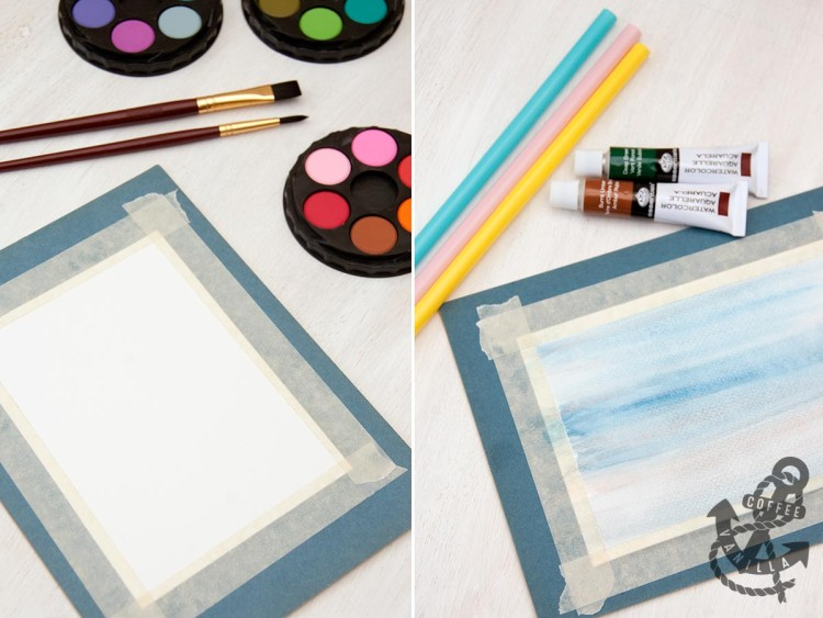 how to paint with watercolors for kids