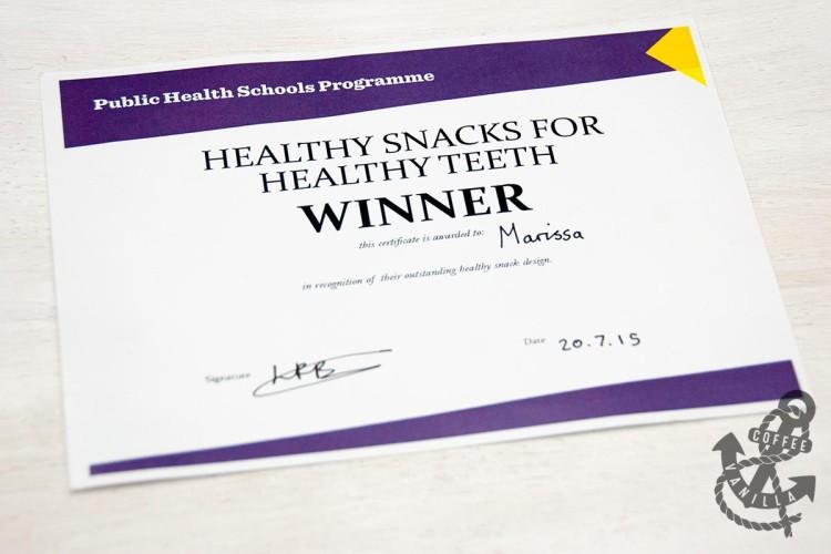 school healthy recipe competition winner