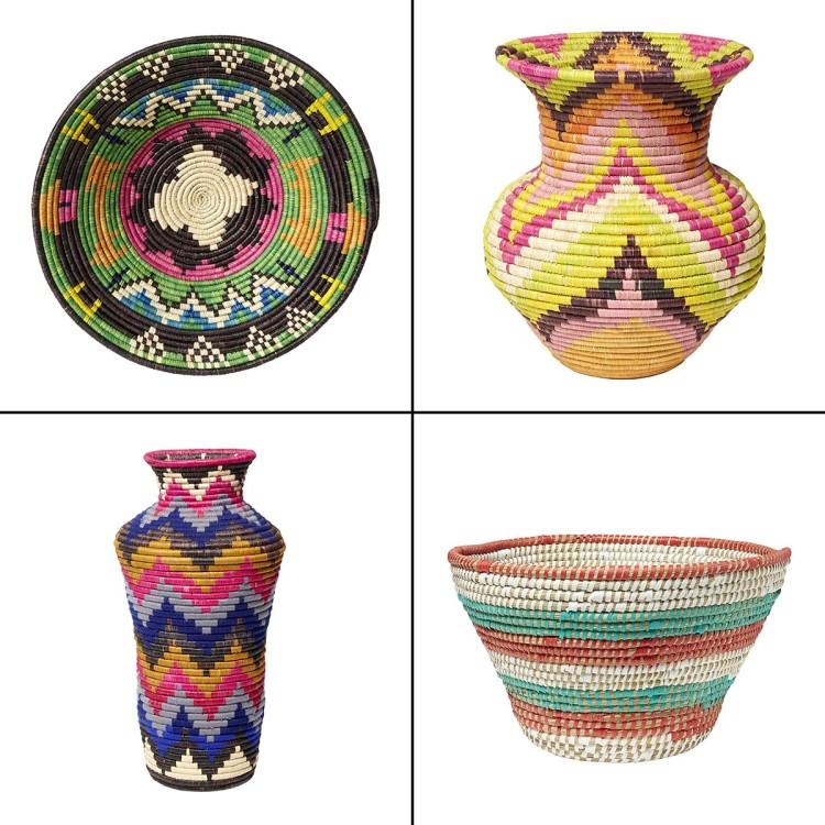 handmade home-ware from Uganda Africa in HomeSense TK Maxx