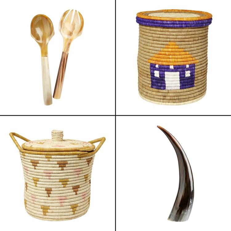 African home-ware in HomeSense and TK Maxx UK
