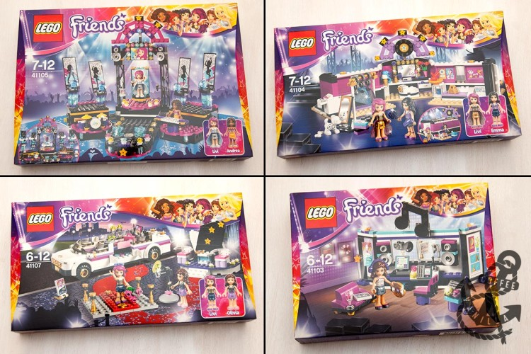 pop star singer Lego Livi LEGO Friends