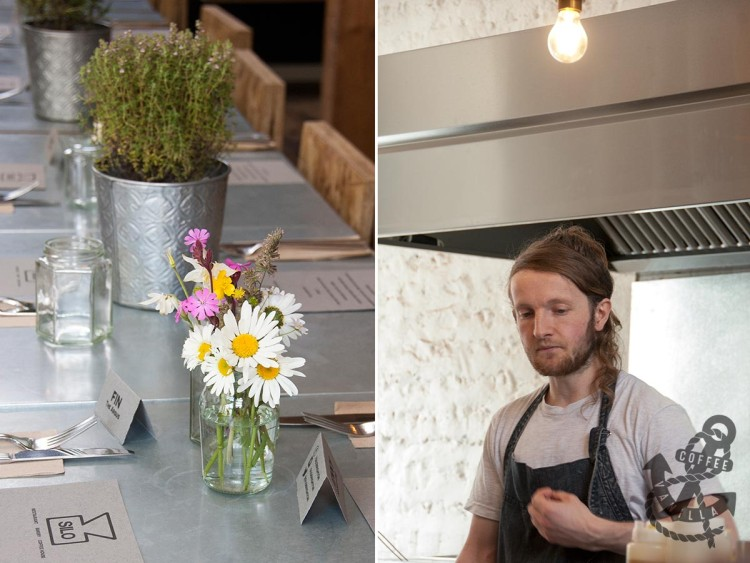 Chef Douglas from zero waste Silo in Brighton
