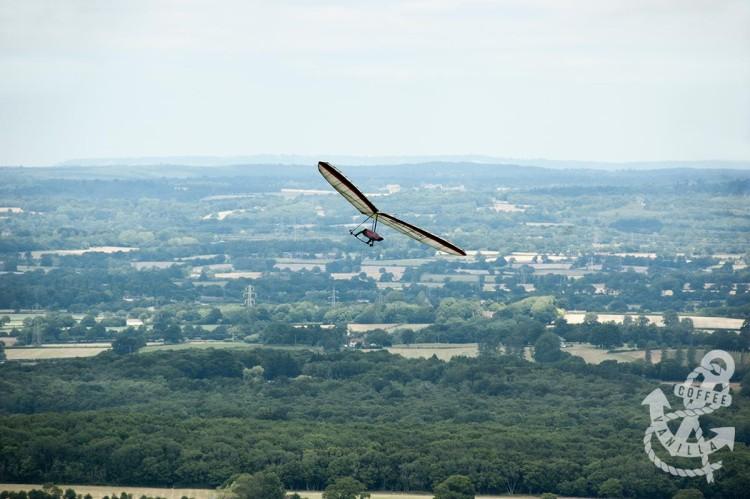hang gliding in Devil's Dyke