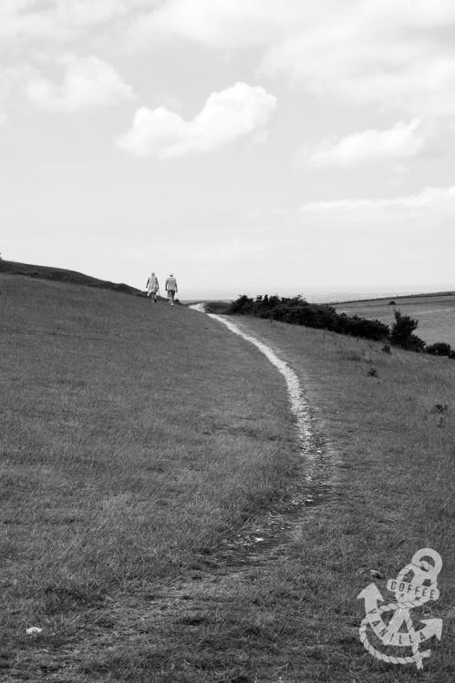 Devil's Dyke hike trails hiking in the Downs