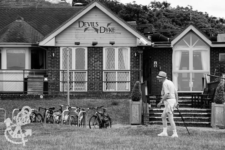 Devils Dyke postcode and address to the Devil's Dyke Hotel pub restaurant