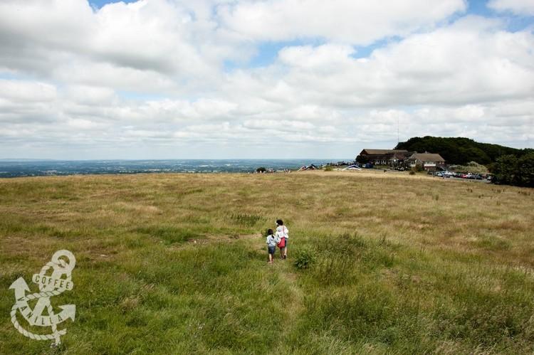 panoramic view of Devil's Dyke in Poynings Brighton Dyke Road