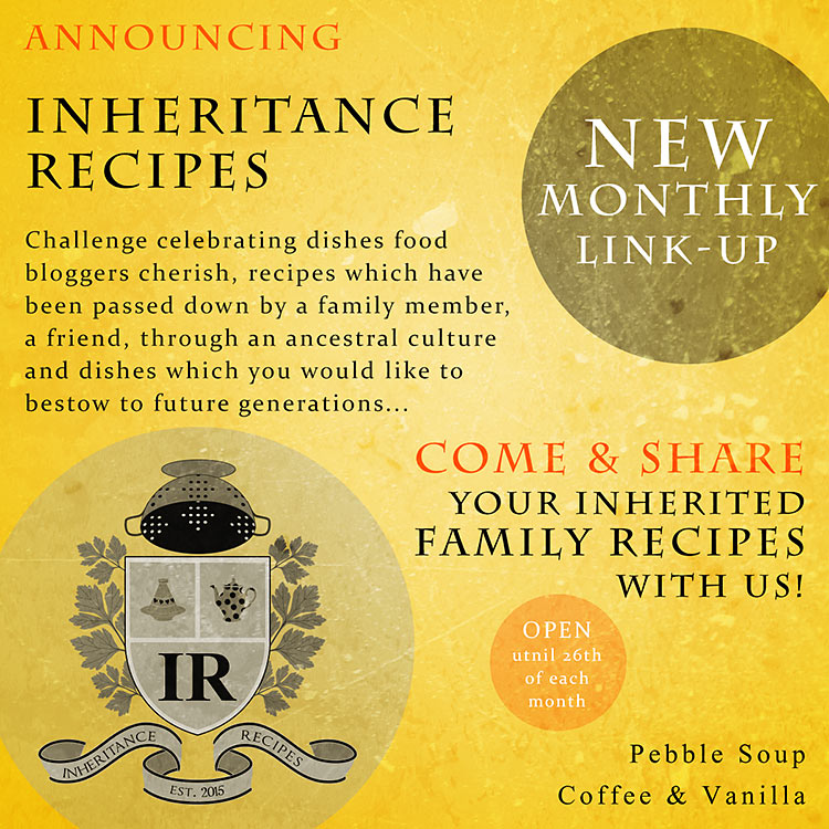 link-up challenge competition prizes UK recipes inheritance tradition ancestry