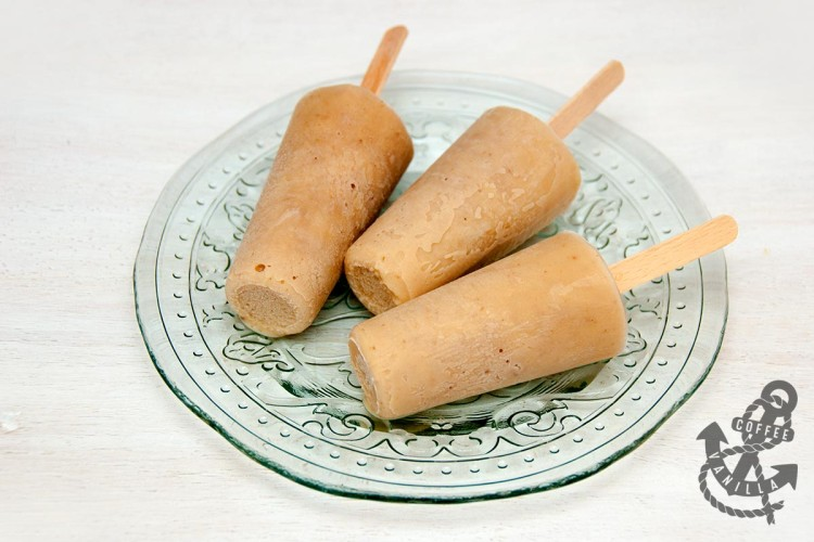 how to make ice lollies from bananas