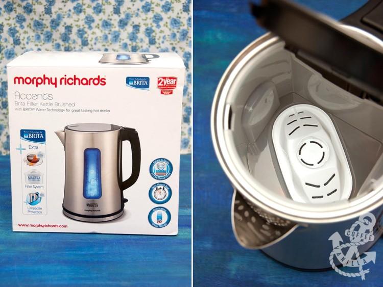 morphy richards brita filter kettle review UK