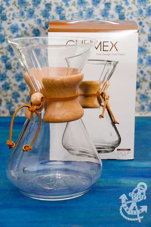 how to use chemex drip coffee maker