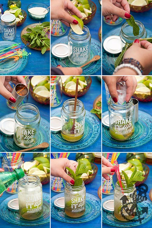 how to make mojito step by step picture recipe tutorial