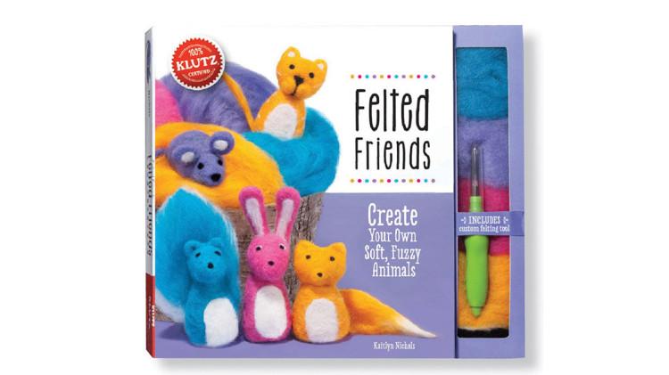 needle felting book for children
