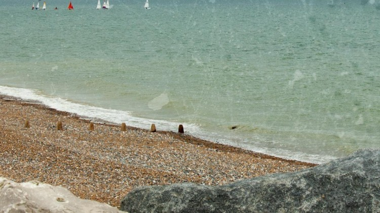 Visiting Lancing Beach in West Sussex
