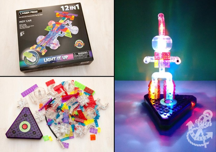 light-up lego compatible bricks with light
