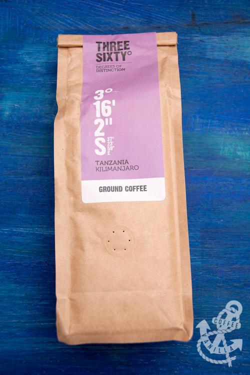 ThreeSixty˚ Three Sixty ThreeSixty coffee from Tanzania Kilimanjaro