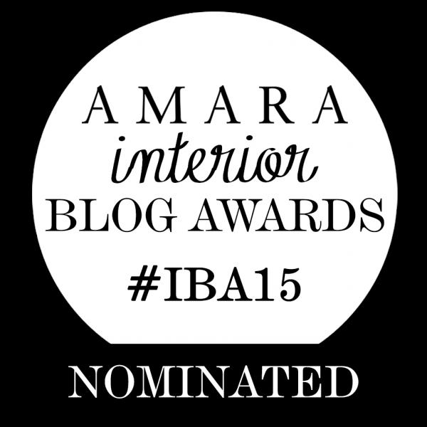 Amara Interior Blog Awards 2015 - Best DIY & Crafts Blog category