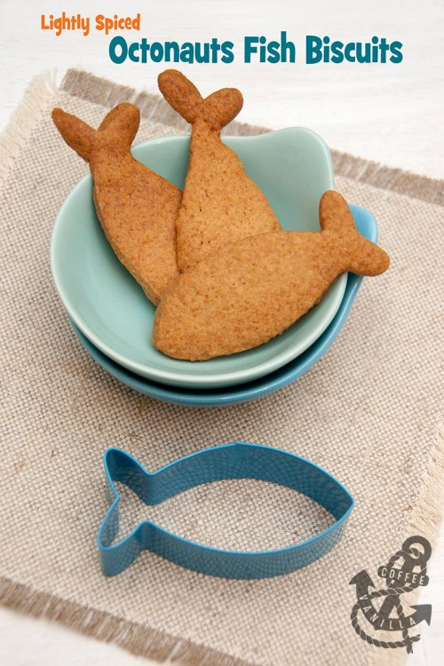 Octonauts fish biscuits recipe