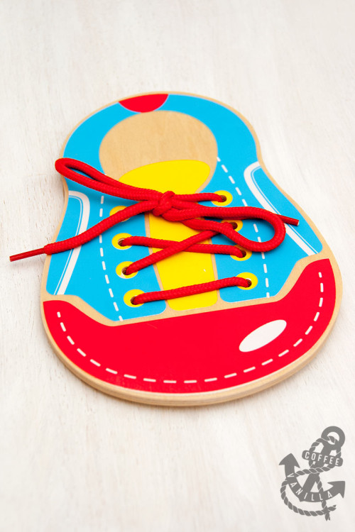 shoe lacing toy shoe tying toy for kids