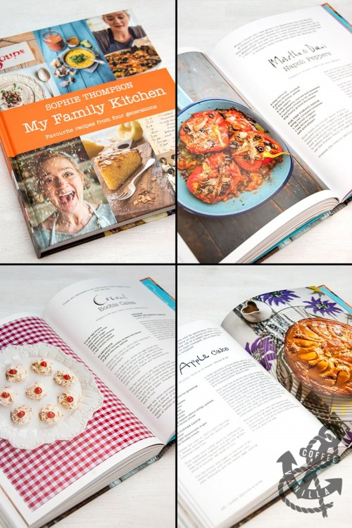 cook book by Celebrity Master Chef winner and British actress Sophie Thompson