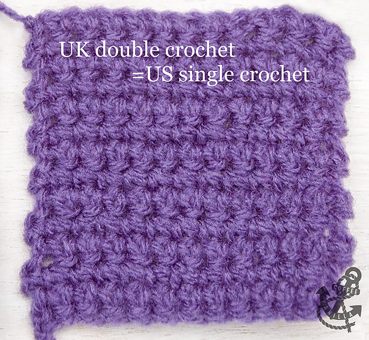 uk double crochet equals us single crochet