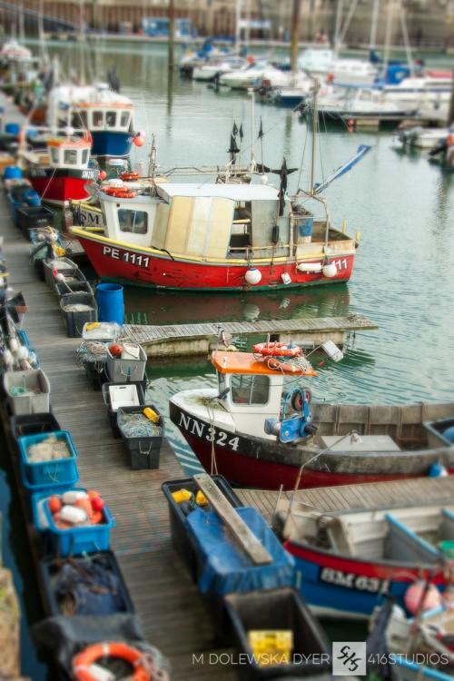 fishing boats Brighton Marina