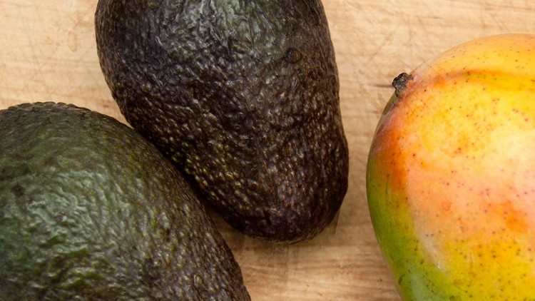 Brazilian-style Mango & Avocado Salad with Lime Dressing