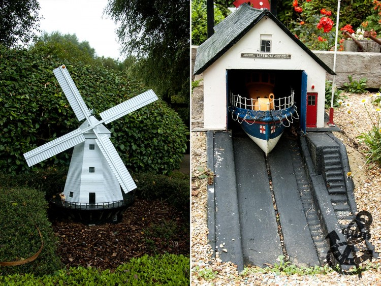 miniature UK landmarks