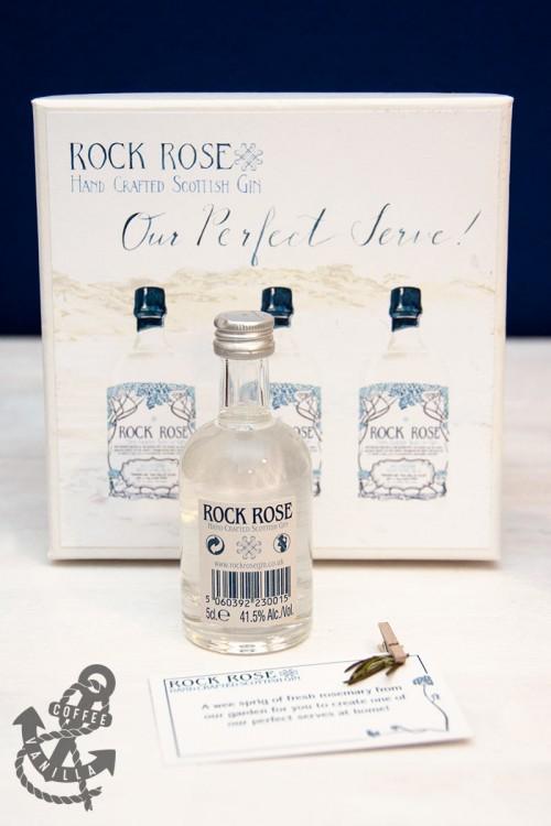 Scottish gin Rock Rose from Scotland