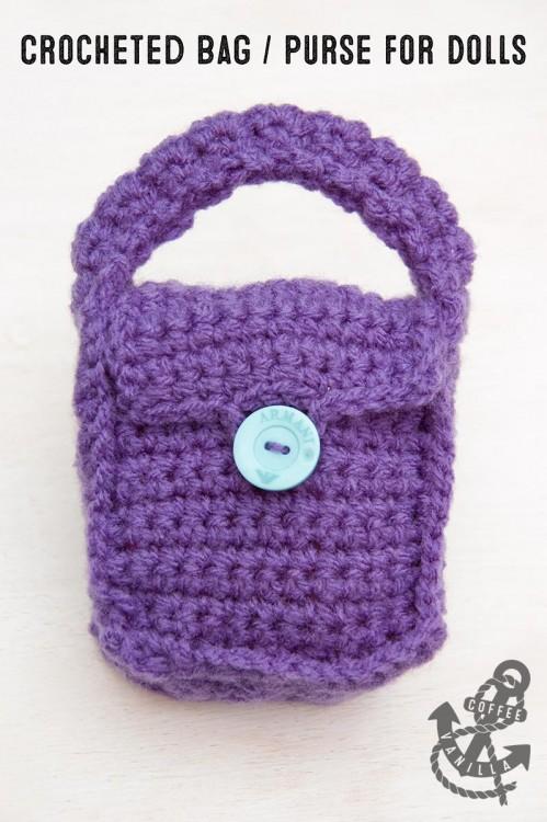 crochet bag for dolls