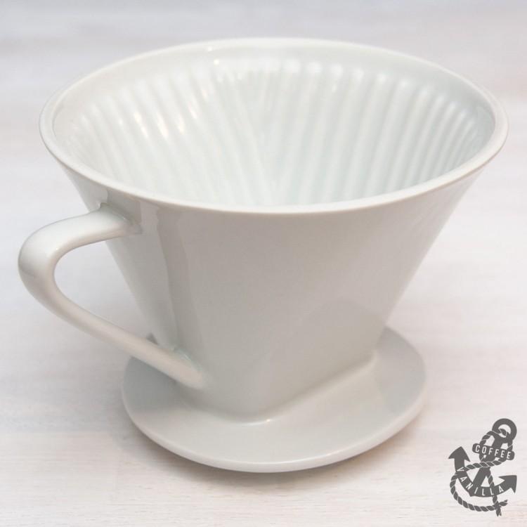 ceramic pour over coffee filter cone