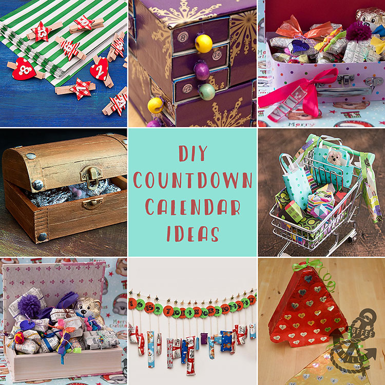 quick and easy christmas advent countdown calendar ideas