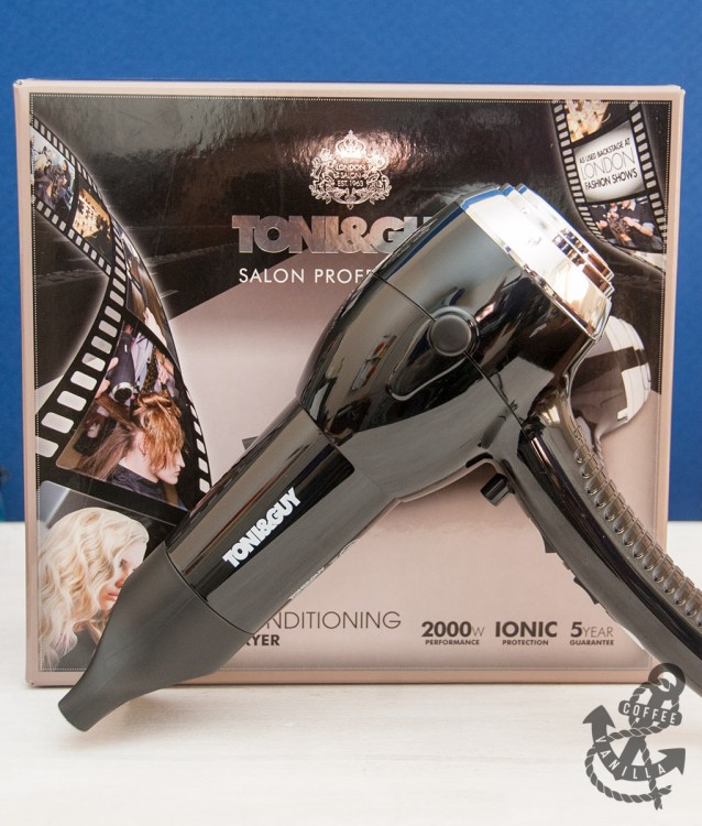 Toni & Guy ionic hair dryer review