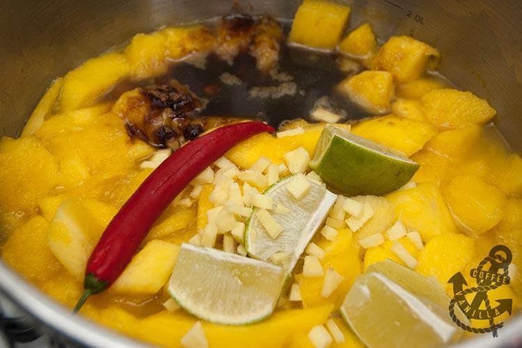 quick mango chutney ingredients
