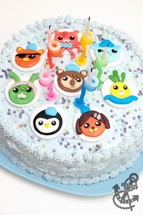 easy Octonauts cake for children