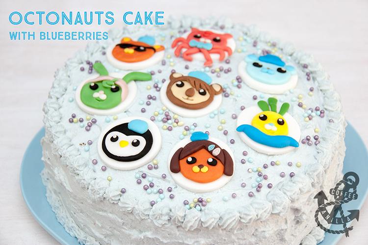 Octonauts cake for kids recipe Tweak Bunny