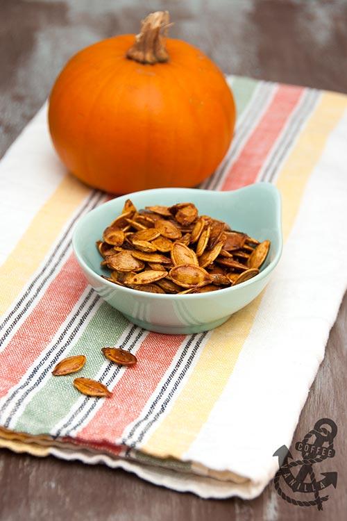 simple roasted pumpkin seeds recipe