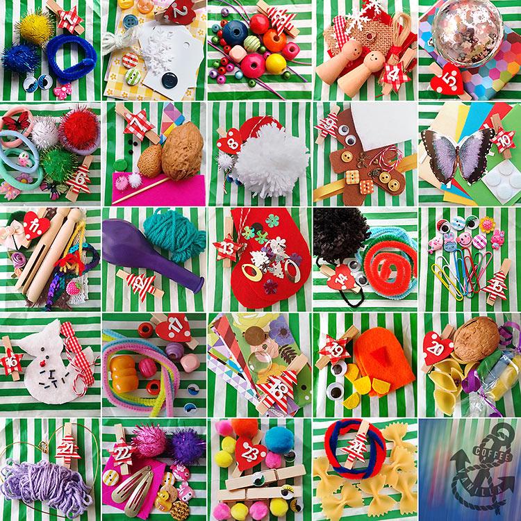 24 kids craft ideas for the advent calendar