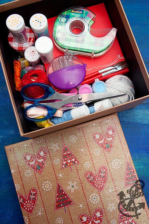 DIY craft box set for kids