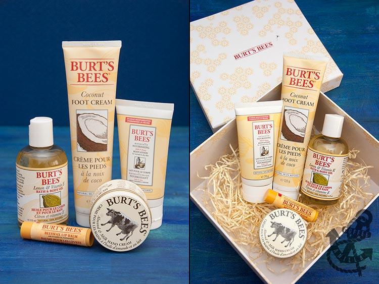 natural cosmetics gift set