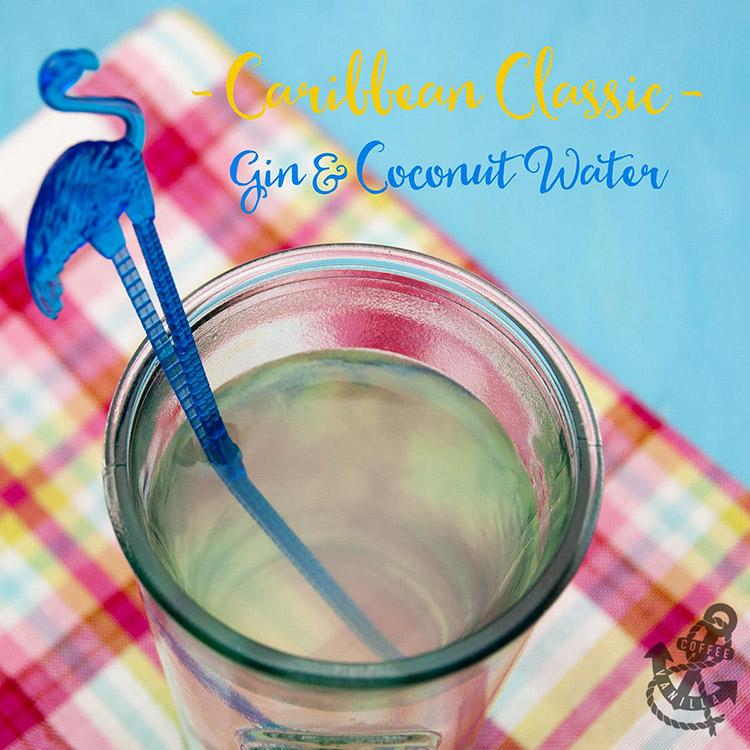 gin coconut water drink recipe