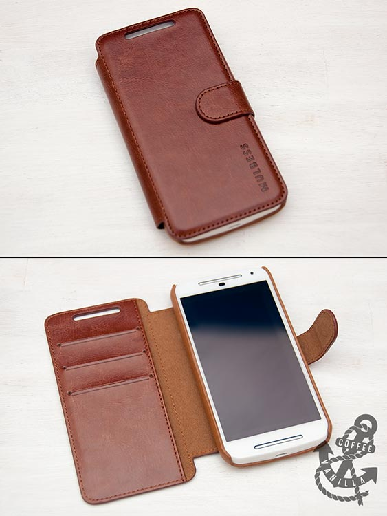 wallet style phone case from Mulbess
