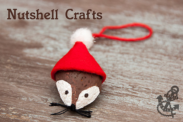 crafts using nuts