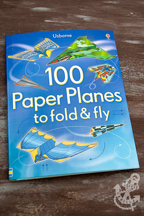 paper planes book with papers