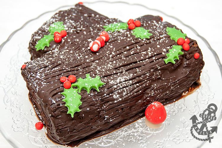 easy swiss roll log cake recipe