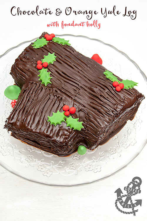 chocolate yule log recipe