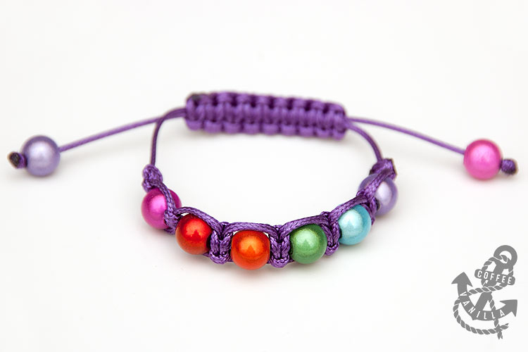 shamballa bracelet how to make