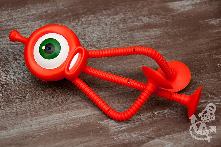 alien robot voice recorder cute fun prank gadget