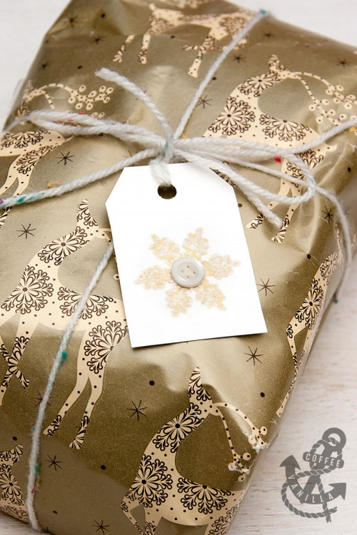gift tags theme